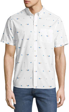 Michael Bastian Toucan Short-Sleeve Sport Shirt