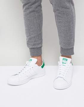 adidas Stan Smith Leather Sneakers In White M20324