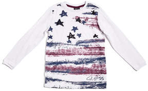 GUESS Long-Sleeve Graphic Tee (2-7)