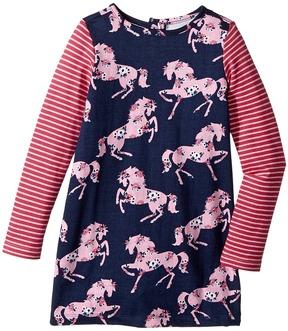Hatley Prancing Horses Mod Dress Girl's Dress