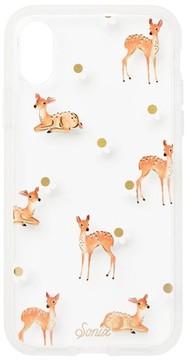 Sonix Deer Print Iphone X Case - Beige