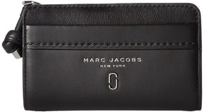 Marc Jacobs Tied Up Compact Wallet Wallet Handbags - BLACK - STYLE