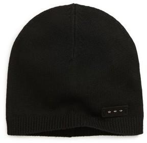 John Varvatos Jersey Knit Skull Cap - Black