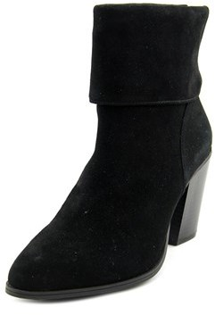 Alfani Lauree Women Pointed Toe Suede Ankle Boot.