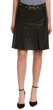 Bagatelle Pleated A-Line Skirt
