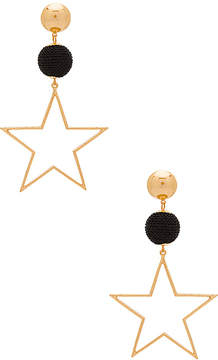 Ettika Bon Bon Star Earrings