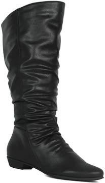 Refresh Black Daisy Boot