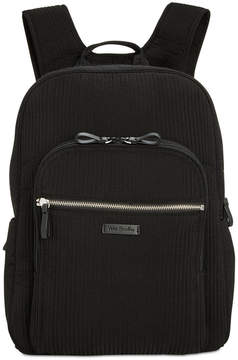 Vera Bradley Iconic Deluxe Campus Small Backpack - CLASSIC BLACK - STYLE