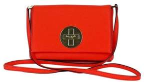 Kate Spade Bright Coral Textured Leather Crossbody - CORAL - STYLE