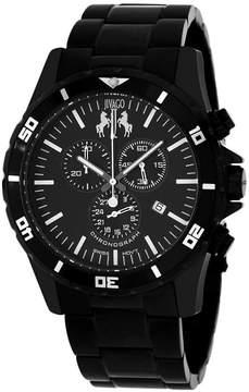 Jivago Mens Black Bracelet Watch-Jv6120