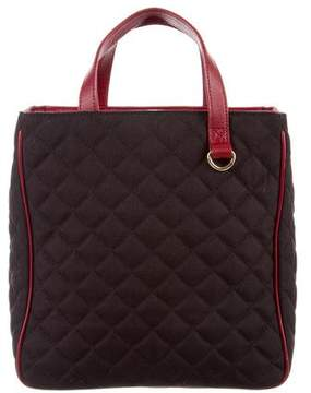 MZ Wallace Quilted Canvas Tote