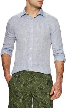 Michael Bastian Men's Checkered Sportshirt