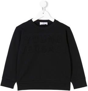 Versace crew neck sweatshirt