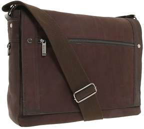 Kenneth Cole Reaction Busi-Mess Essentials - Single Gusset Flapover Messenger Bag Messenger Bags