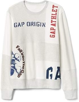 Gap Logo Remix Pullover Sweatshirt