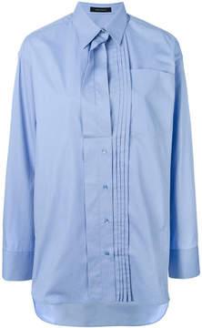 Cédric Charlier pleated panel shirt