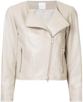 CITYSHOP collarless biker jacket