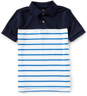 Ralph Lauren Little Boys 5-7 Short-Sleeve Color Block/Stripe Polo Shirt