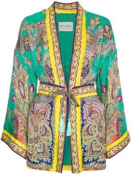 Etro Silk paisley kimono