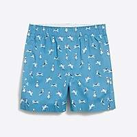 J.Crew Factory Boys' printed cotton boxers