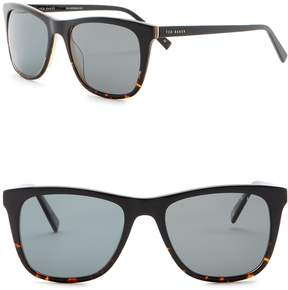 Ted Baker 54mm Full Rim Sunglasses
