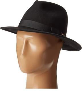 San Diego Hat Company WFH8039 Felt Fedora Hat Fedora Hats