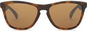 Oakley Oo9013 Frogskins havana square-frame sunglasses