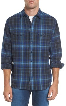 Grayers Men's Barton Modern Fit Plaid Flannel Sport Shirt