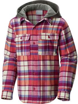 Columbia Boulder Ridge Flannel Long-Sleeve Hooded Shirt