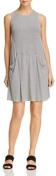 Aqua Striped Jersey Shift Dress - 100% Exclusive