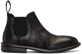 Marsèll Black Cetriolo Bombe Chelsea Boots