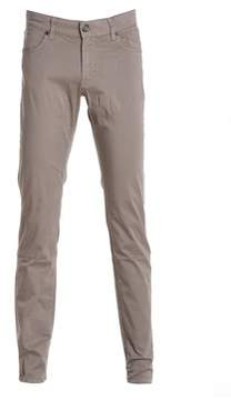 Jeckerson Men's Beige Cotton Pants.