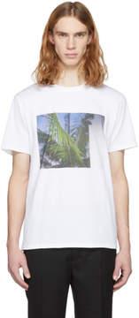 A.P.C. White Palm Tree T-Shirt