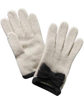 Portolano Yogi Ivory Cashmere Gloves