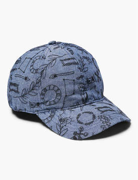 Lucky Brand ALL OVER EMBROIDERED HAT
