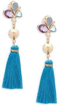 Atelier Mon Women's Abela Tassle Drop Earrings