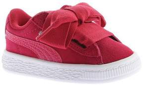 Puma Infant Girls' Suede Heart Sneaker