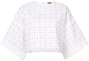 ADAM by Adam Lippes embroidered cropped T-shirt
