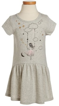 Truly Me Toddler Girl's Girl On The Swing Knit Dress