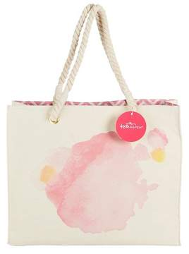 Kate Aspen Watercolor Tote Bag With Rope Handles