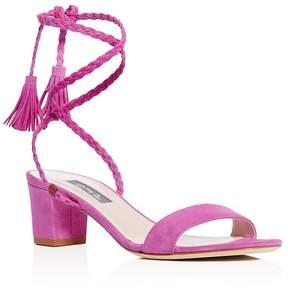 Sarah Jessica Parker Elope Ankle Tie Block Heel Sandals