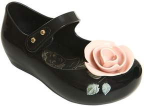 Mini Melissa Beauty & The Beast Rose Melflex Shoes
