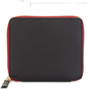 Comme des Garcons Tongue and teeth leather wallet