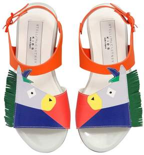 Stella McCartney Donkey Faux Leather Sandals