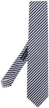 Etro diagonal striped tie