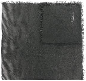 Roberto Cavalli tiger stripe scarf