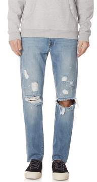 Frame L'Homme Slim Raw Edge Jeans