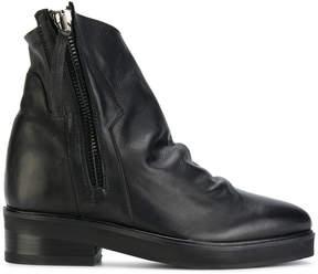 Cinzia Araia zip gathered boots