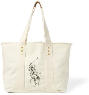 Polo Ralph Lauren Canvas Medium Big Pony Tote