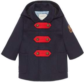 Baby wool cashmere coat